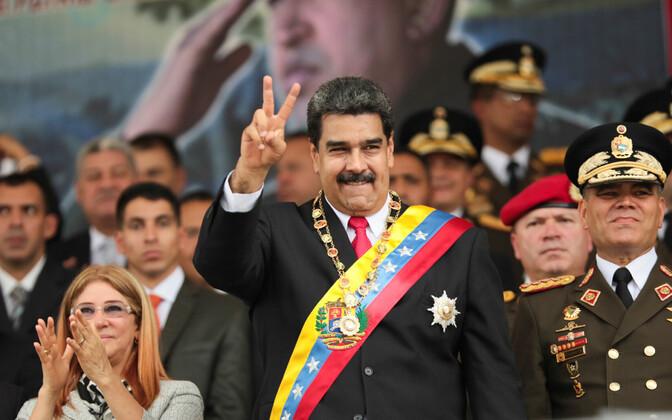 Президент Венесуэллы Николас Мадуро