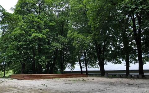 Сцена парка Пооламяги.