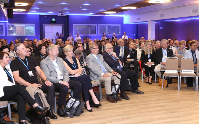 Estonia's honorary consuls at the first day of the conference on Tuesday. 26 June, 2018.