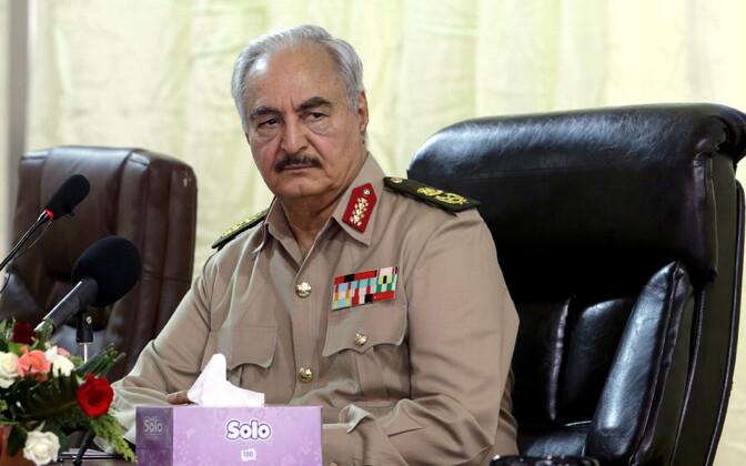 Kindral Khalifa Haftar.