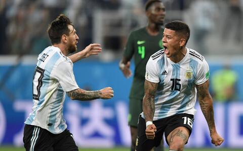 Nigeeria - Argentina.