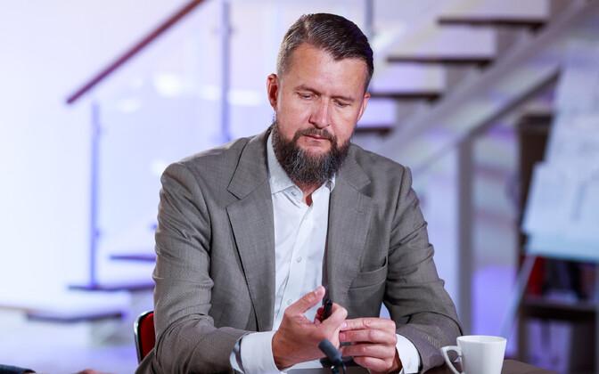 Директор Международного центра оборонных исследований Свен Сакков.