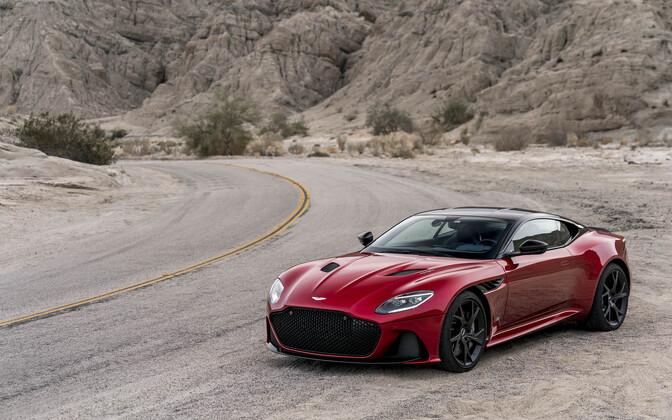 Новый спорткар от Aston Martin.