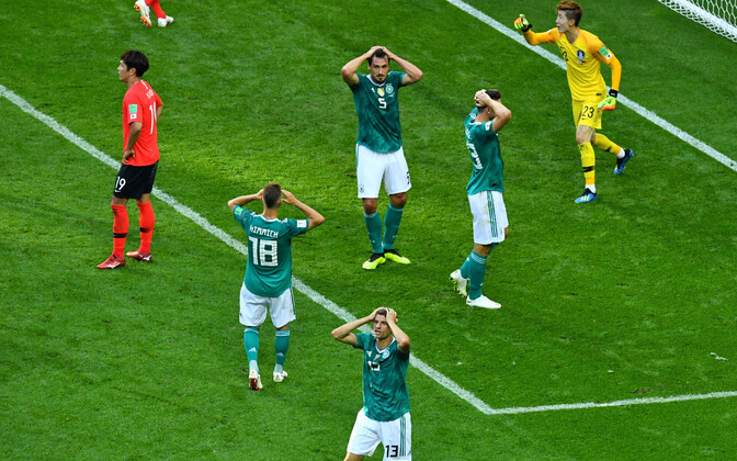 Lõuna-Korea - Saksamaa.