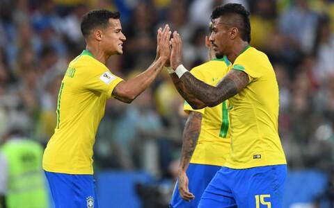 Philippe Coutinho ja Paulinho