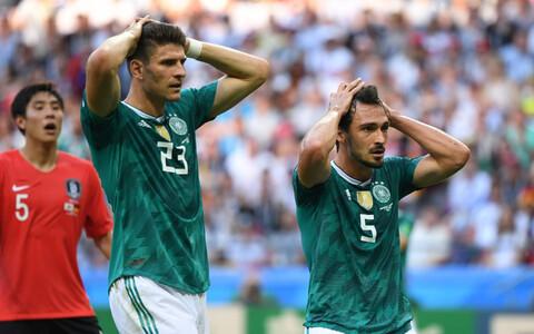 Mario Gomez ja Mats Hummels.