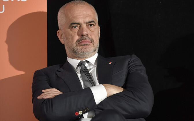 Albaania peaminister Edi Rama.