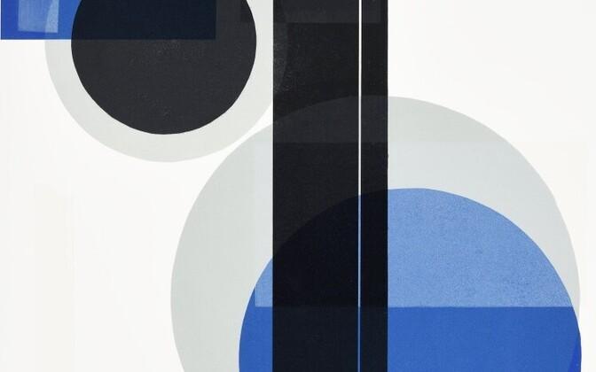 Fragment Maret Olveti ühest graafikateosest.