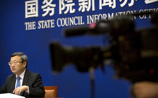 Hiina kaubanduse aseminister Wang Shouwen.
