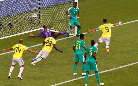 Senegal - Kolumbia jalgpall