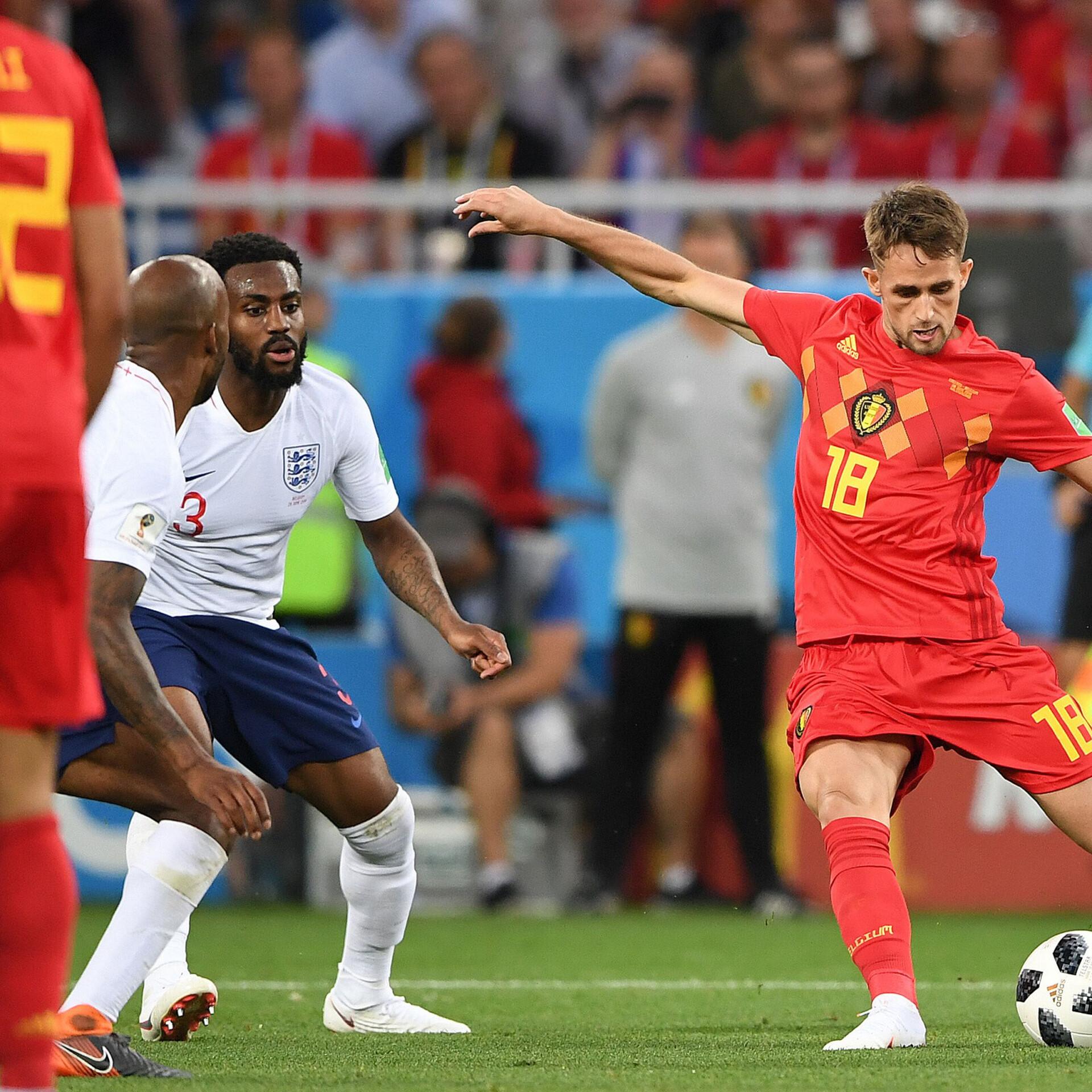 426a91e3fc1 VIDEO   Januzaj tabamus tõi Belgiale võidu inglaste üle   Jalgpalli MM   ERR