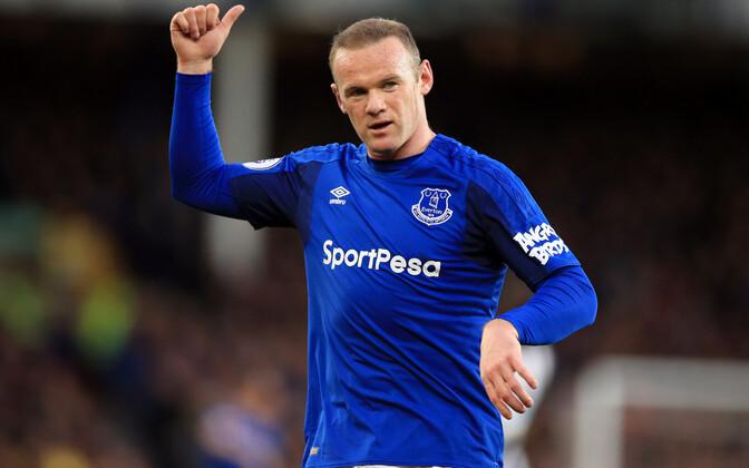 Wayne Rooney Evertoni särgis.