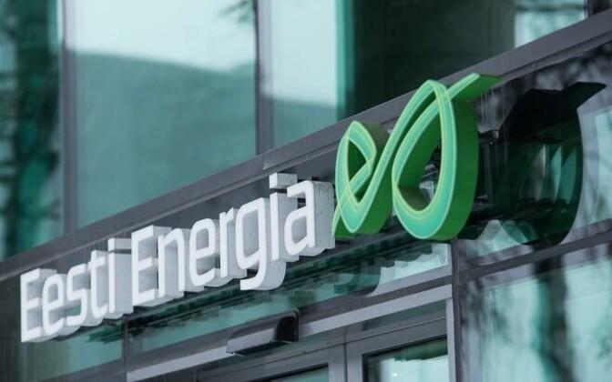 Eesti Energia logo.