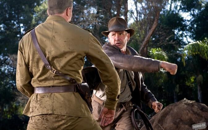 Harrison Ford Indiana Jonesi rollis