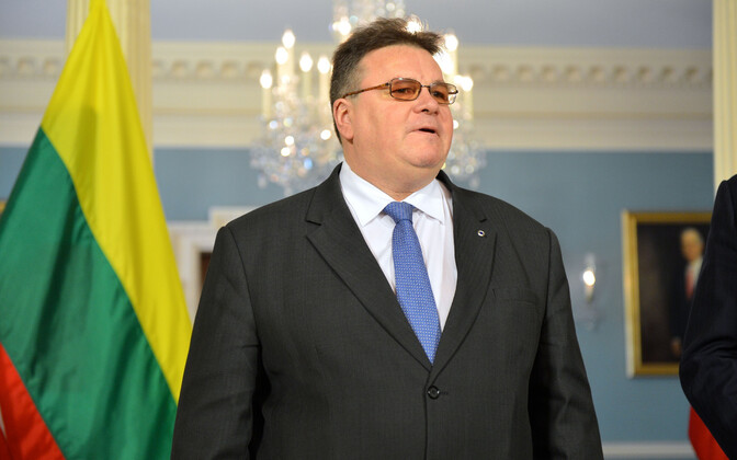 Leedu välisminister Linas Linkevičius.