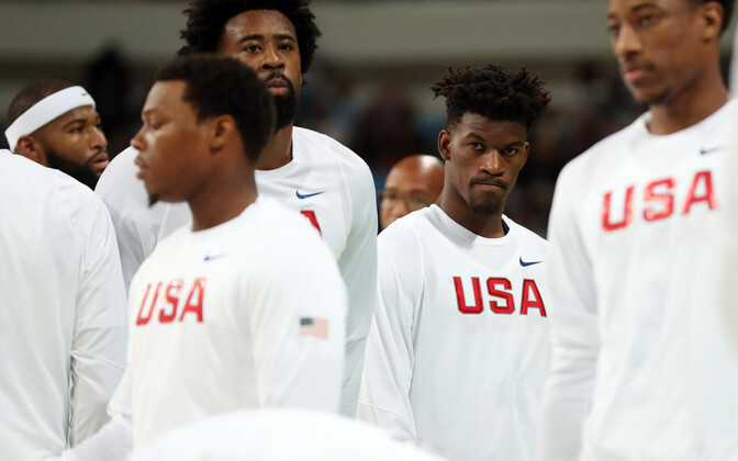 USA korvpallikoondis 2016. aastal.