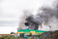 Fire at Ragn-Sells waste fuel plant in Tallinn, 29 June 2018