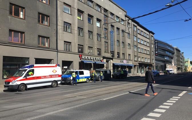 Стрельба произошла рядом с баром Café VS на Пярнуском шоссе.