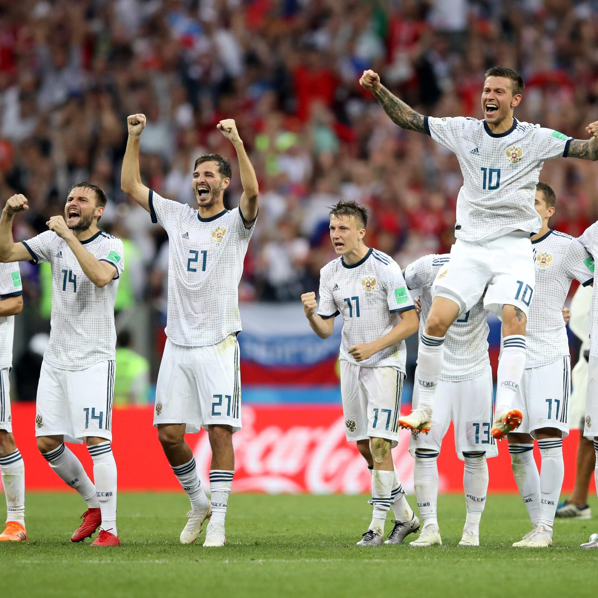 da8d4061ea1 Venemaa lükkas Hispaania penaltiseeria järel konkurentsist | Jalgpalli MM |  ERR