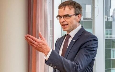 Министр иностранных дел Эстонии Свен Миксер.