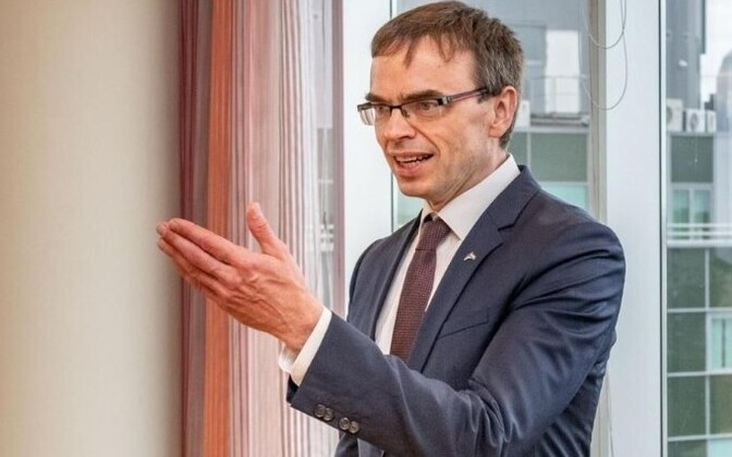Sven Mikser interview from Die Welt's website.