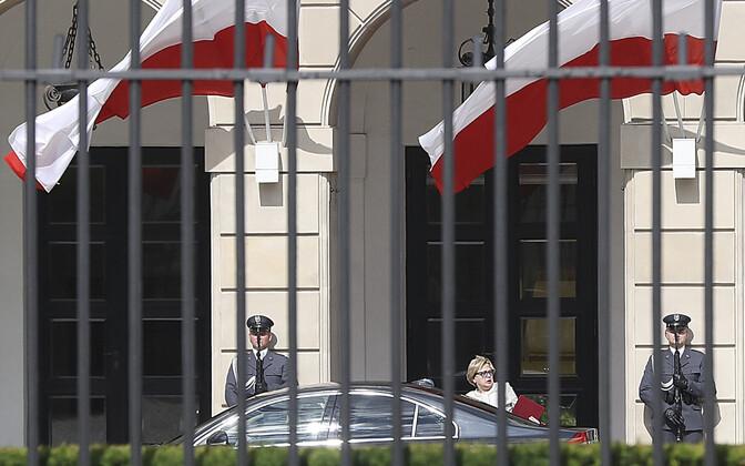 Małgorzata Gersdorf minemas kohtumisele Andrzej Dudaga