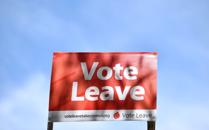 Vote Leave kampaania.
