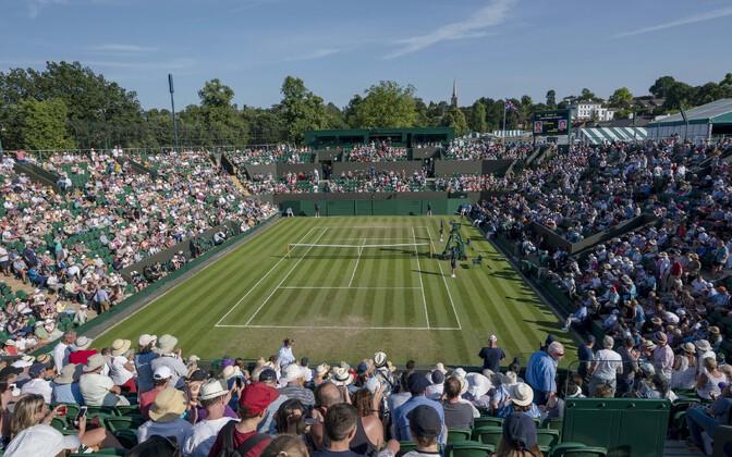 Wimbledoni tennisekeskus.