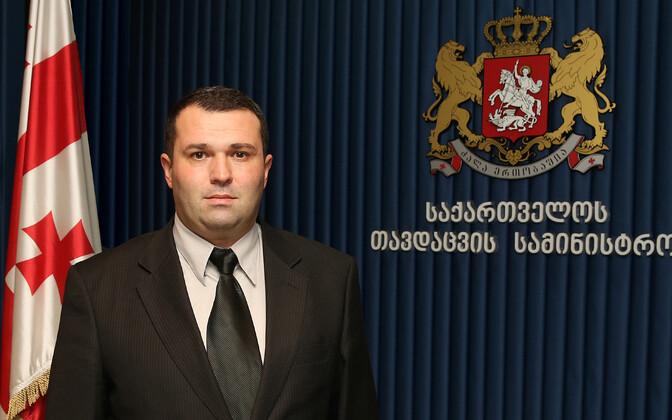Gruusia asekaitseminister Giorgi Buthuzi