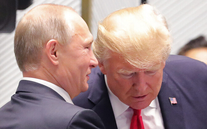 Putin ja Trump 2017. aasta novembris Vietnamis APEC-i tippkohtumisel.