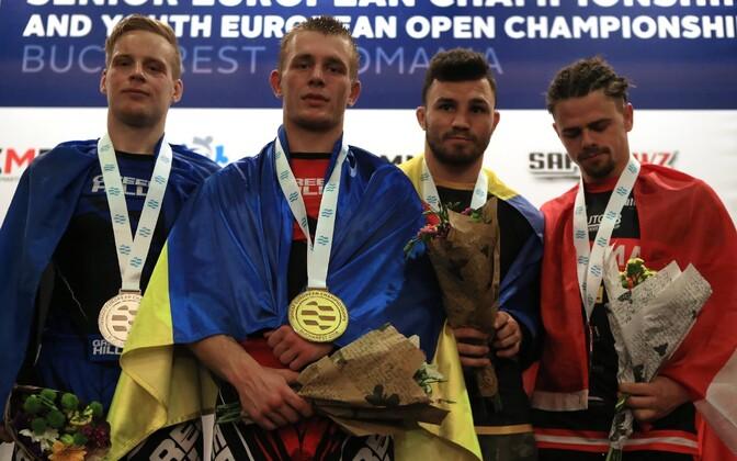 Kaupo Kokamägi tuli vabavõitluse Euroopa meistrivõistlustel hõbedale