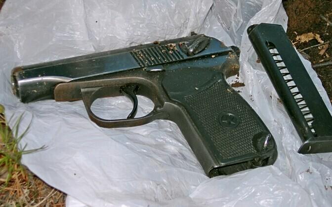 Пистолет Макарова.
