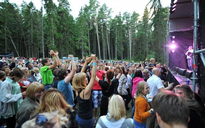 Фестиваль Viru Folk пользуется большой популярностью.