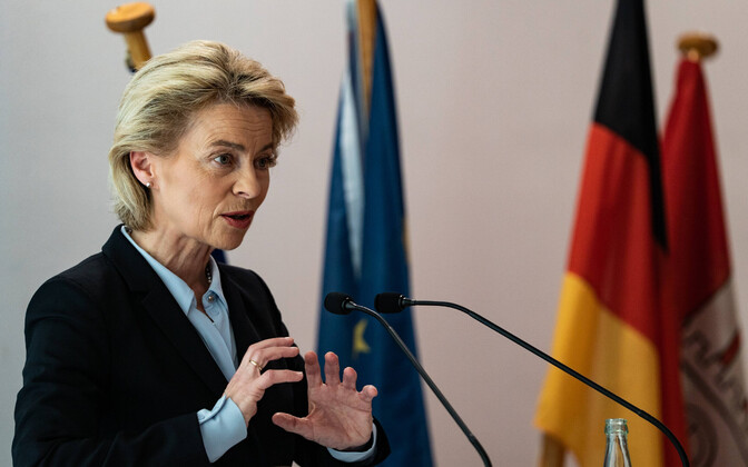 Saksamaa kaitseminister Ursula von der Leyen.