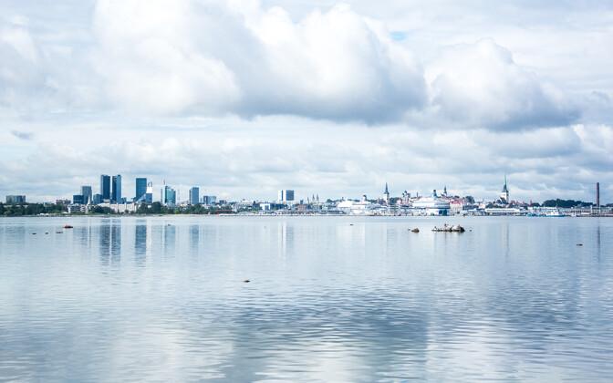 Vaade Tallinna mereväravale