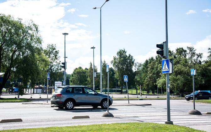 Пешеходный переход. Иллюстративная фотография