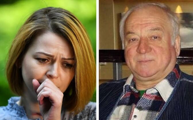 Julia Skirpal ja Sergei Skripal.