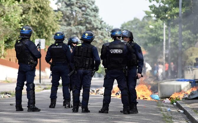 Беспорядки в Нанте.