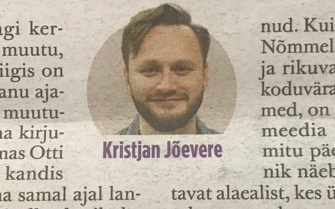 Kristjan Jõevere.