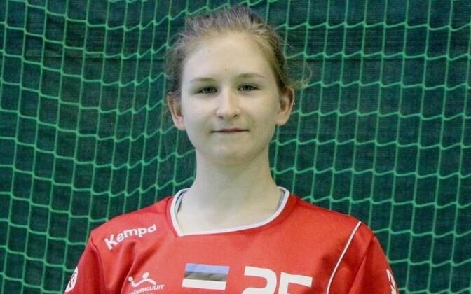 Läbi turniiri Eesti koondise esiväravavahina kindlalt postide vahel seisnud Maria Mironova.