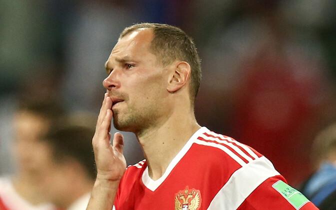 Сергей Игнашевич после проигрыша Хорватии.