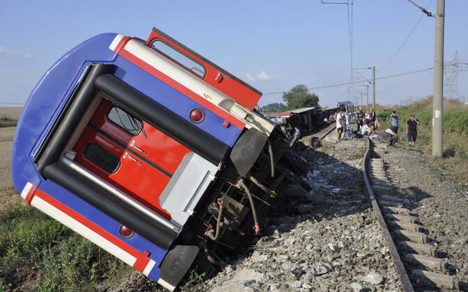 Rongiõnnetus Türgis 8. juulil.