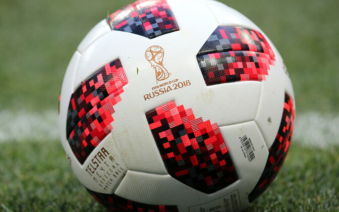 An official 2018 World Cup Russia football.