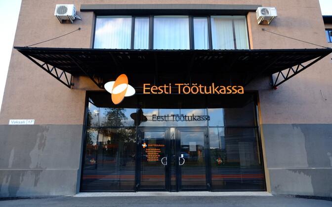 The Estonian Unemployment Insurance Fund (EUIF) office on Tartu's Vaksali Street.