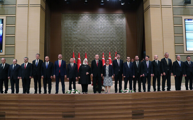 Новое правительство Турции.