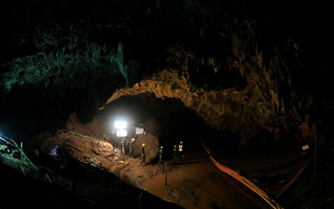Tais toimunud päästeoperatsioon koopas lõksus olnute päästmiseks