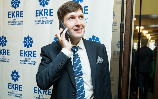 EKRE politician Martin Helme.