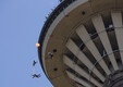 Ekstreemlangevarjurid Tallinna teletornis