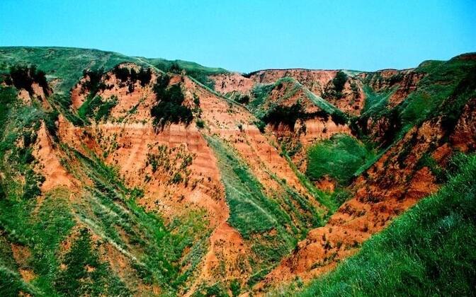 Väljakaevamisi tehti Shangcheni asula lähistel Lantiani maakonnas.