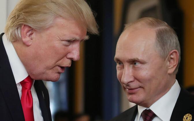 Дональд Трамп и Владимир Путин встретятся в Хельсинки.